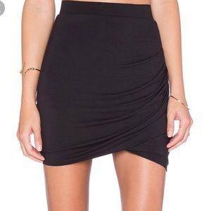 Lovers + Friends Voyage Skirt In Black